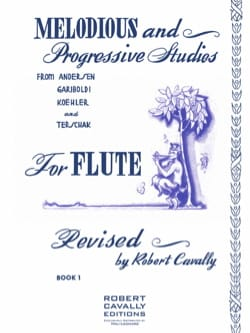 Robert Cavally - Melodious and Progressive Studies for Flute Book 1 - Sheet Music - di-arezzo.com
