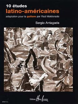 Sergio Arriagada - 10 Latin American Studies - Guitar - Sheet Music - di-arezzo.co.uk