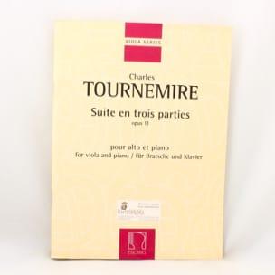 Charles Tournemire - Suite en Trois Parties Op. 11 - Partition - di-arezzo.fr