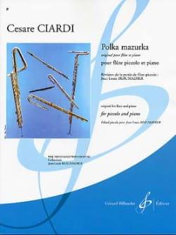 Polka Mazurka - Cesare Ciardi - Partition - laflutedepan.com