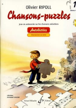 Olivier RIPOLL - Chansons-Puzzles - Volume 1 - Sheet Music - di-arezzo.co.uk