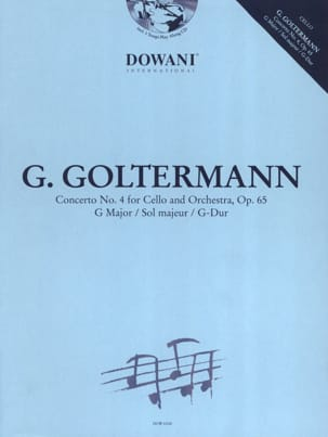 Georg Goltermann - Concerto No. 4 Op. 65 in Sol Maj. - Sheet Music - di-arezzo.co.uk