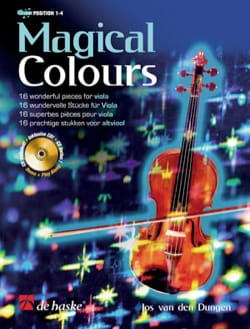 Jos van den Dungen - Magical Colors - Sheet Music - di-arezzo.co.uk