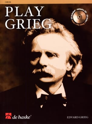 Edvard Grieg - Play Grieg for Oboe - Partition - di-arezzo.fr