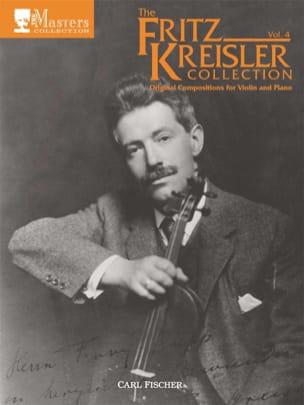 Fritz Kreisler - Fritz Kreisler Collection, Volume 4 - Partition - di-arezzo.fr