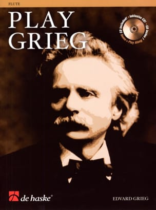 Edvard Grieg - Play Grieg For Flute - Partition - di-arezzo.fr
