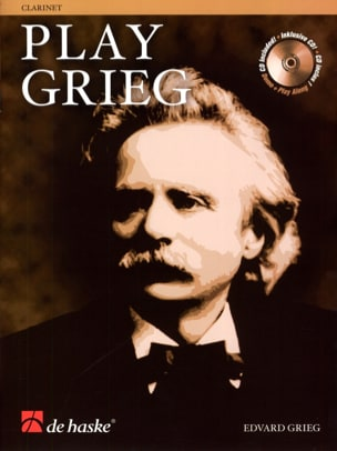 Edvard Grieg - Play Grieg for Clarinet - Partition - di-arezzo.fr