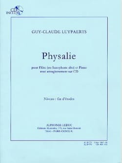 Physalie Guy-Claude Luypaerts Partition laflutedepan