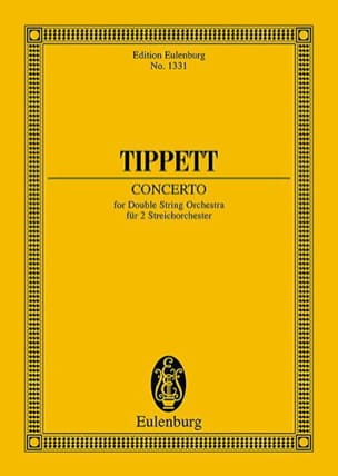 Concerto For Double String Orchestra Michael Tippett laflutedepan