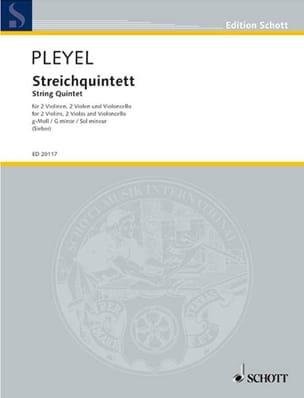 Streichquintett g-moll -Partitur + Stimmen Ignaz Pleyel laflutedepan