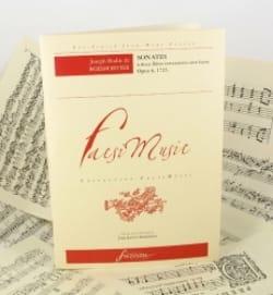 Sonates Op.6 A 2 Flûtes Sans Basse - BOISMORTIER - laflutedepan.com