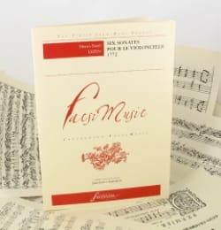 Henri-Noël Lepin - 6 Sonatas For The Cello 1772 - Sheet Music - di-arezzo.com