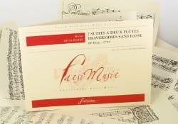2 Suites à 2 Flûtes sans Basse - Michel De la Barre - laflutedepan.com