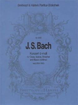 Johann Sebastian Bach - Konzert d-moll nach BWV 1060 – Partitur - Partition - di-arezzo.fr