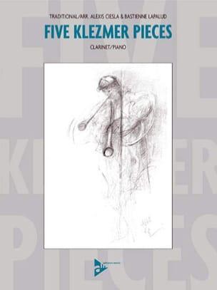 Ciesla Alexis / Lapalud Bastienne - 5 Klezmer Pieces - Sheet Music - di-arezzo.com