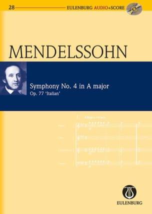 MENDELSSOHN - Symphonie Italienne N° 4 Op. 90 En la Majeur - Partition - di-arezzo.fr