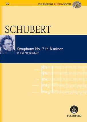 SCHUBERT - Unfinished Symphony D.759 - Sheet Music - di-arezzo.co.uk