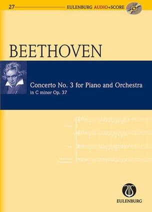 Ludwig van Beethoven - Concerto pour Piano N° 3 Op. 37 en Ut Mineur - Partition - di-arezzo.fr
