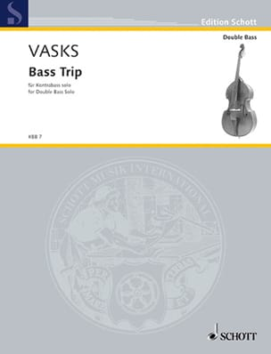 Peteris Vasks - Bass Trip - Sheet Music - di-arezzo.com