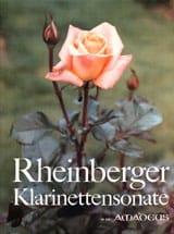 Sonate Clarinette - Joseph Rheinberger - Partition - laflutedepan.com