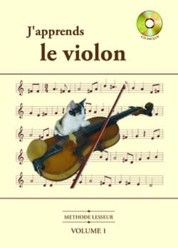 Olivier Lesseur - J' Apprends le Violon Volume 1 - Partition - di-arezzo.fr