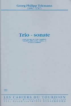 Georg Philipp Telemann - Trio - Sonate –Dessus de viole, hautbois et Bc - Partition - di-arezzo.fr