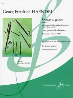 Georg Friedrich Haendel - Concerto Grosso Op.6 N°10 - Partition - di-arezzo.fr