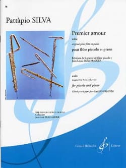 Premier Amour - Valse Pattapio Silva Partition laflutedepan