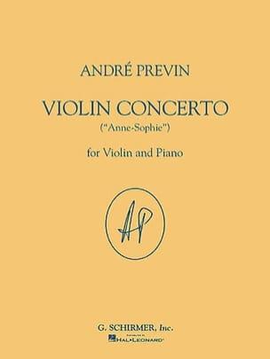 André Previn - Violin Concerto - Partition - di-arezzo.fr