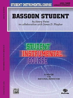 Henry Paine - Bassoon Student Instrumental Level Three - Sheet Music - di-arezzo.com