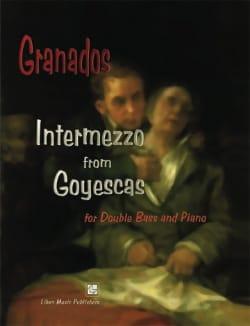 Intermezzo - GRANADOS - Partition - Contrebasse - laflutedepan.com
