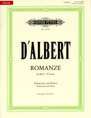 Romance En Fa Dièse Mineur - Eugène D'albert - laflutedepan.com