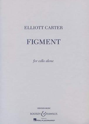 Figment - Elliott Carter - Partition - Violoncelle - laflutedepan.com