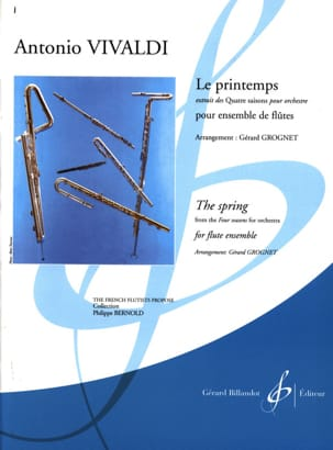VIVALDI - Le Printemps - Partition - di-arezzo.fr