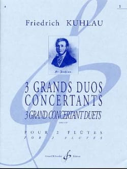 Friedrich Kuhlau - 3 Grands Duos Concertants Op. 87 Volume 1 - Partition - di-arezzo.fr