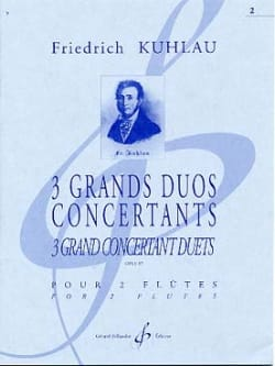 3 Grands Duos Concertants Op. 87 Volume 2 - laflutedepan.com