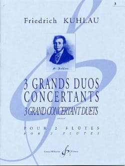 3 Grands Duos Concertants Op. 87 Volume 3 - laflutedepan.com