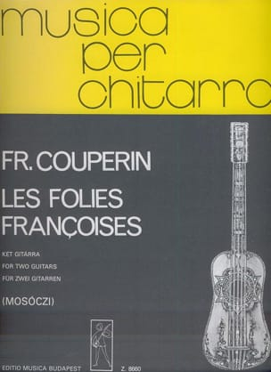 François Couperin - The French Folies - 2 guitars - Sheet Music - di-arezzo.com
