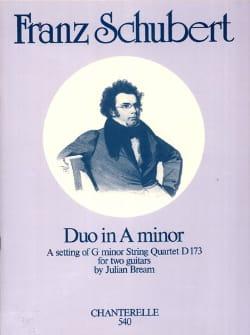 Schubert Franz / Bream Julian - Duo in A minor – 2 Guitars - Partition - di-arezzo.fr