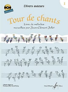 Tour de Chants Volume 1 - Jean-Clément Jollet Partition laflutedepan