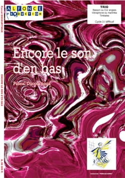 Pascal Ducourtioux - Still the sound from below - Sheet Music - di-arezzo.co.uk