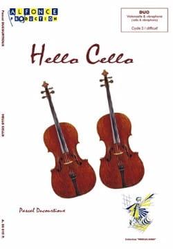 Hello Cello - Duo - Pascal Ducourtioux - Partition - laflutedepan.com