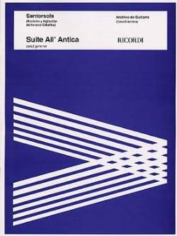 Suite all' Antica Guido Santorsola Partition Guitare - laflutedepan