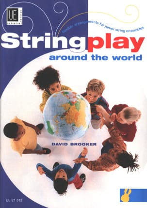 David Brooker - Stringplay Around The World - Partition - di-arezzo.fr