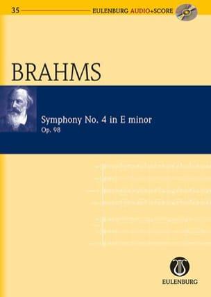 BRAHMS - Symphonie N°4 Op. 98 En Mi Mineur - Partition - di-arezzo.fr