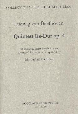 Quintett En Mib Maj. Op.4 - Ludwig van Beethoven - laflutedepan.com