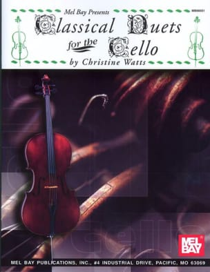 Watts Christine - Classical Duets For The Cello - Sheet Music - di-arezzo.com