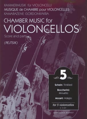 Chamber music for violoncellos - Volume 5 - Score + Parts laflutedepan