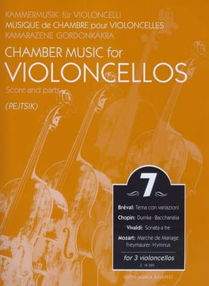 Arpad Pejtsik - Chamber music for violoncellos - Volume 7 - Score Parts - Sheet Music - di-arezzo.co.uk