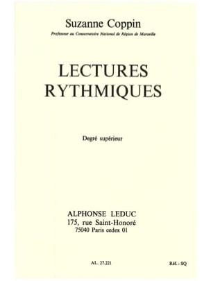 Lectures rythmiques – Supérieur - Suzanne Coppin - laflutedepan.com